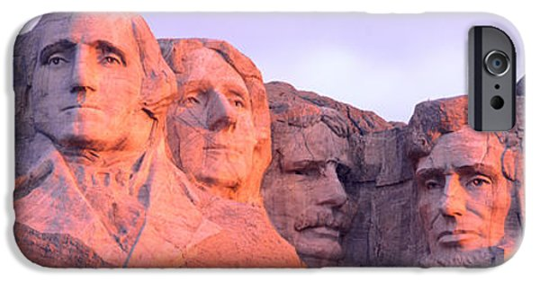 Lincoln iPhone Cases - Mount Rushmore, South Dakota, Usa iPhone Case by Panoramic Images