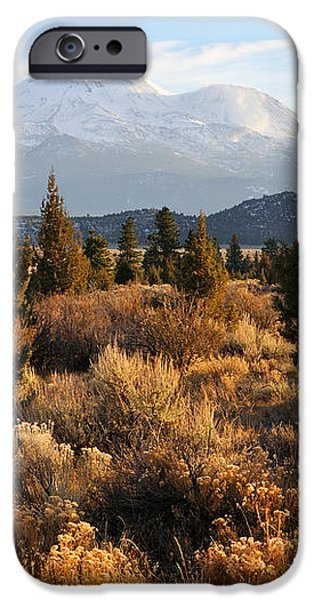 Mount Shasta in the Fall  iPhone Case by Gary Whitton
