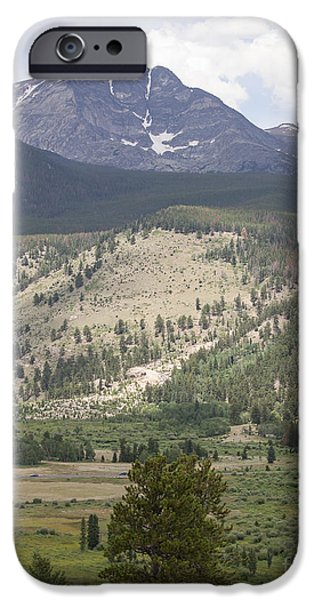 Kaypickens.com iPhone Cases - Mount Ypsilon iPhone Case by Kay Pickens