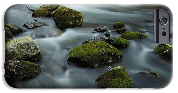 Creek iPhone Cases - Mountain Creek iPhone Case by Rick Berk