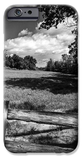 Mountain Field iPhone Case by Bob Orsillo