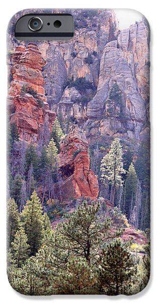 Sedona iPhone Cases - Mountain Majesty iPhone Case by Deb Halloran