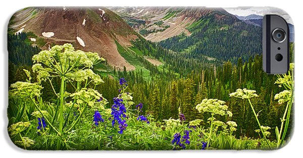 Best Sellers -  - Virtual iPhone Cases - Mountain Majesty iPhone Case by Priscilla Burgers