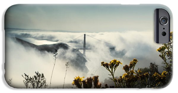 Sausalito iPhone Cases - Mountain of Dreams iPhone Case by Along The Trail