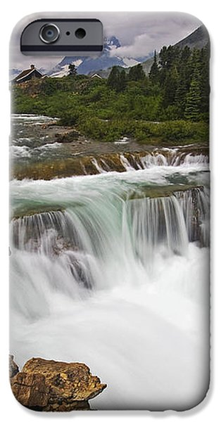 Mountain Paradise iPhone Case by Mark Kiver