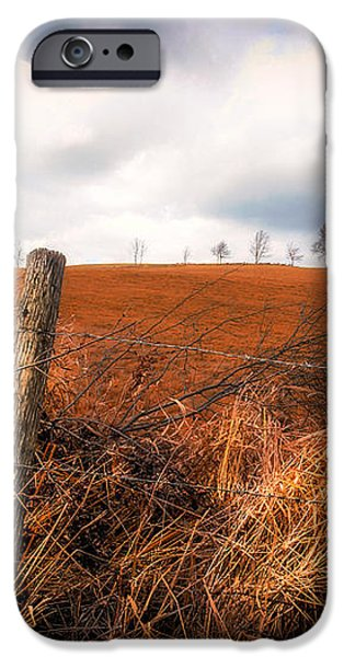 Mountain Pasture iPhone Case by Bob Orsillo