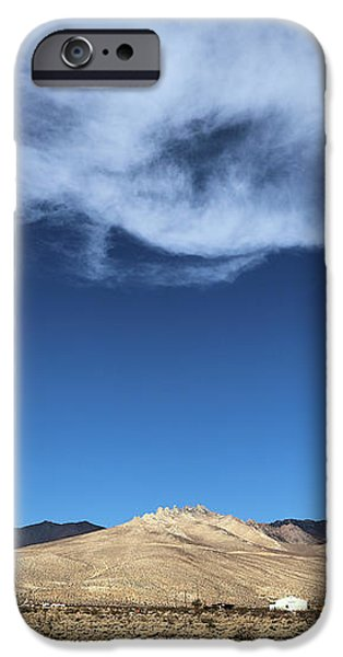 Mountain Range Of Sierra Nevada iPhone Case by Viktor Savchenko