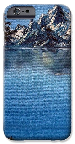 Mountain Ridge Horizon iPhone Case by Cynthia Adams