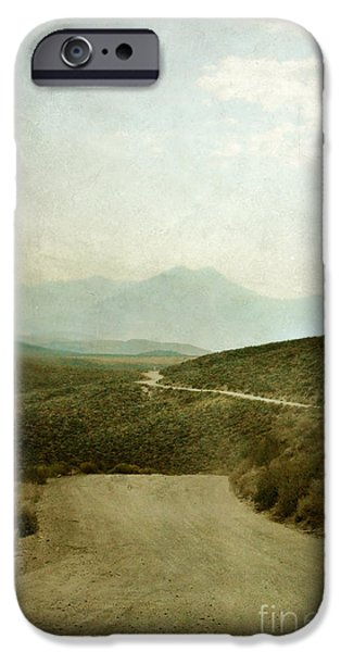 Mountain Road iPhone Case by Jill Battaglia