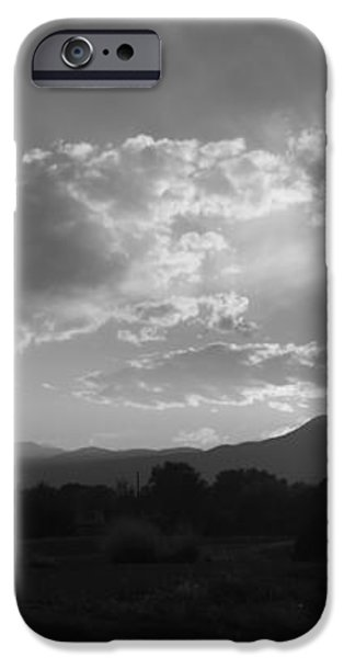 Mountain Sunset iPhone Case by Tyler Cheshire
