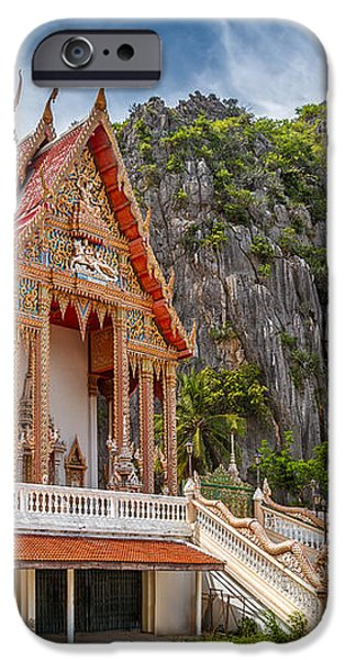 Mountain Temple iPhone Case by Adrian Evans