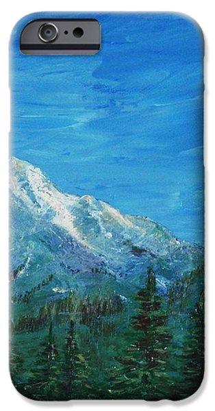 Mountain View iPhone Case by Anastasiya Malakhova