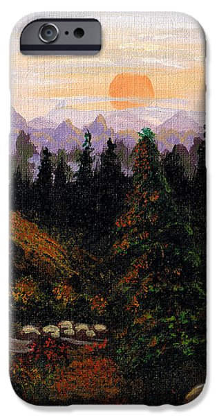 Mountain View iPhone Case by Barbara Griffin