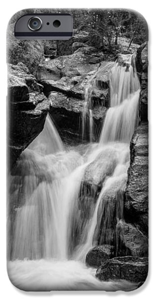 Mountain Waterfall iPhone Case by Garett Gabriel