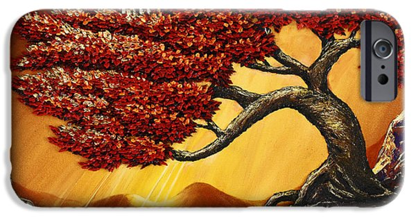 Mighty Oak iPhone Cases - Mountaineer iPhone Case by Ali Mignonne