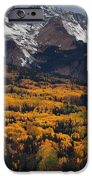 Mountainous Storm iPhone Case by Darren  White