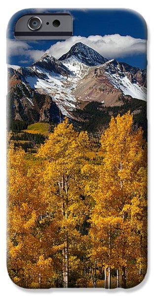 Nature Scene iPhone Cases - Mountainous Wonders iPhone Case by Darren  White