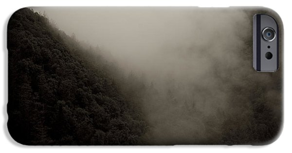 Virginia Photographs iPhone Cases - Mountains And Mist iPhone Case by Shane Holsclaw