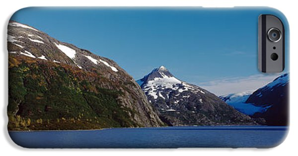 Portage iPhone Cases - Mountains At The Seaside, Chugach iPhone Case by Panoramic Images