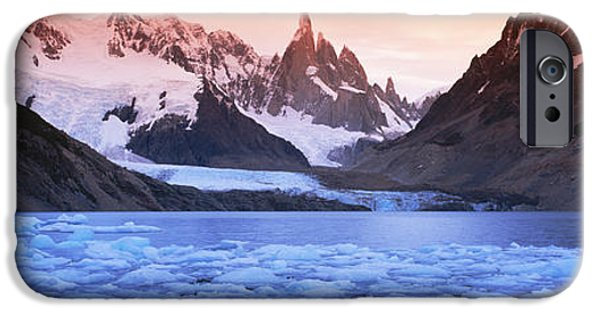 Mountain iPhone Cases - Mountains Covered In Snow, Laguna iPhone Case by Panoramic Images