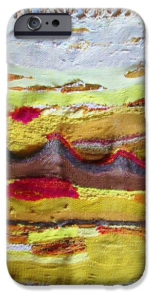 Photographs Tapestries - Textiles iPhone Cases - Mountains in a Weaving  iPhone Case by Martha Nelson
