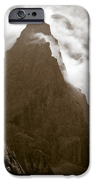 Adventure Photographs iPhone Cases - Mountainscape iPhone Case by Frank Tschakert
