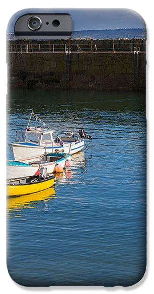 Mousehole Cornwall iPhone Case by Louise Heusinkveld