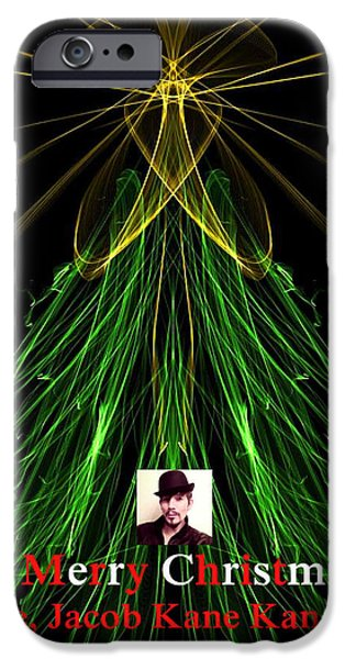 My Friend iPhone Cases - MoveOnArt A Merry Christmas Love Jacob Kanduch iPhone Case by Jacob Kanduch