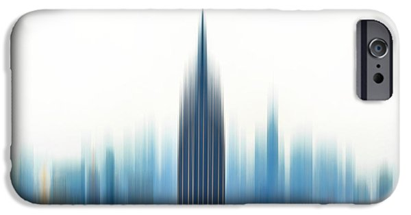 Big Cities iPhone Cases - Moving An Empire iPhone Case by Az Jackson