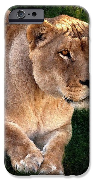 Muscular Digital iPhone Cases - Moving In painted version iPhone Case by Steve Harrington