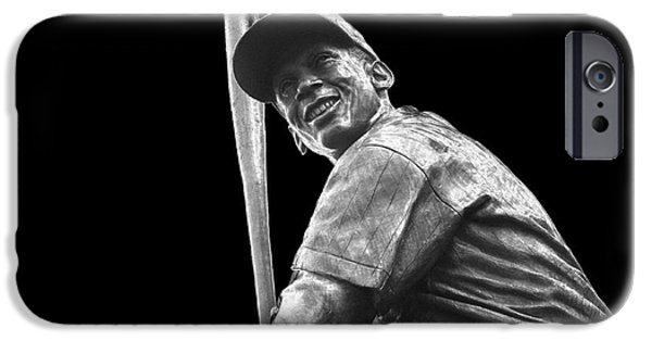 Wrigley iPhone Cases - Mr. Cub iPhone Case by David Bearden