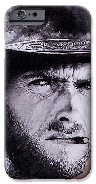 Mr. Eastwood iPhone Case by Ellen Patton