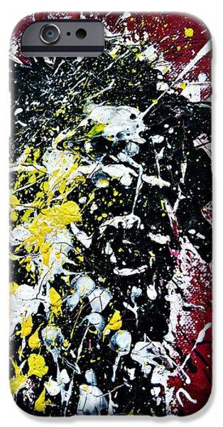 Mr. Nobody iPhone Case by Ismeta Gruenwald