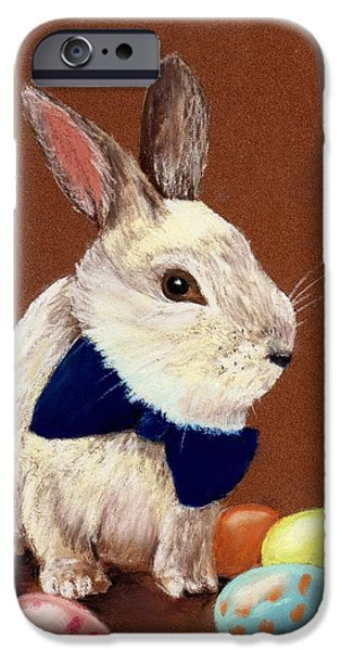 Best Sellers -  - Religious iPhone Cases - Mr. Rabbit iPhone Case by Anastasiya Malakhova