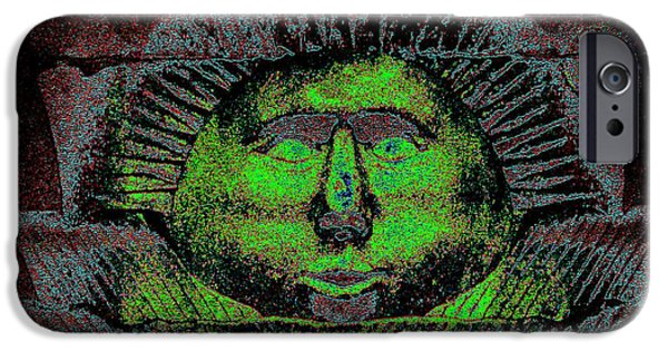 Smithsonian iPhone Cases - Mr. Sun iPhone Case by Steve Doris