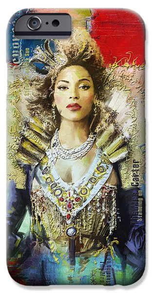 Mrs. Carter Show Art Poster - A iPhone Case by Corporate Art Task Force