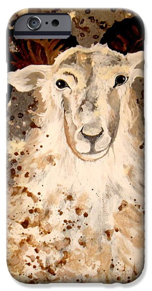 Mrs MAry iPhone Case by Amy Sorrell