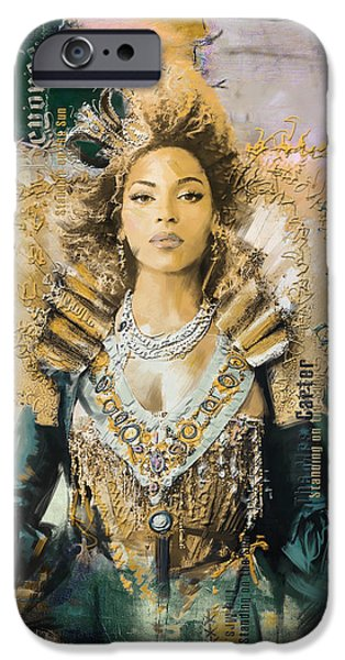 Mrs.Carter Show Poster - B iPhone Case by Corporate Art Task Force