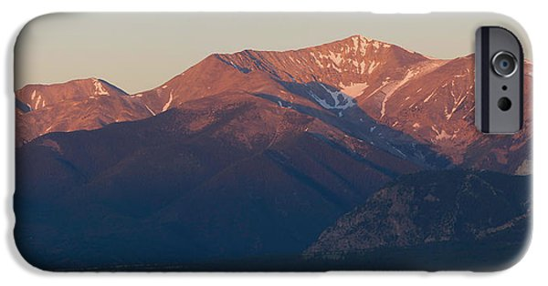 Arkansas iPhone Cases - Mt. Antero Sunrise iPhone Case by Aaron Spong
