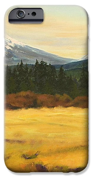 Mt. Bachelor iPhone Case by Donna Drake