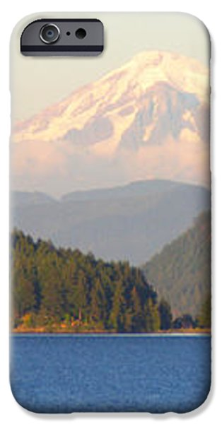 Mt Baker iPhone Case by Brian Harig