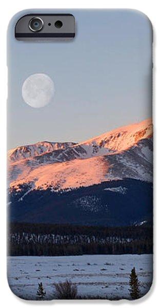 Mt. Elbert Sunrise iPhone Case by Aaron Spong