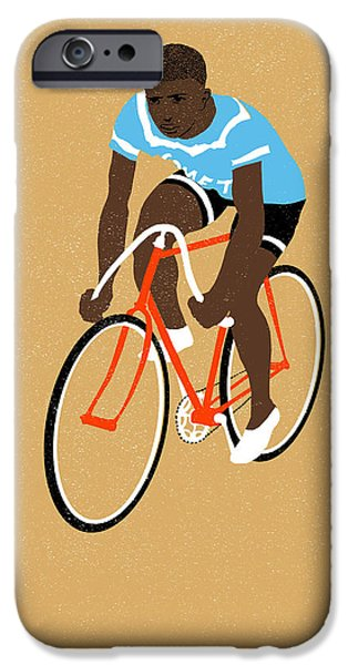 Printmaking Drawings iPhone Cases - Mt iPhone Case by Eliza Southwood