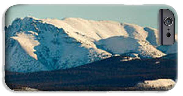 Wintertime iPhone Cases - Mt. Laurier Yukon Territory Canada iPhone Case by Stephan Pietzko