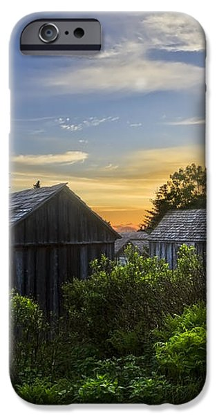 Mt LeConte Before Dawn iPhone Case by Debra and Dave Vanderlaan