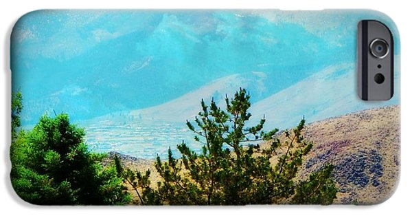 Mount Rose iPhone Cases - Mt Rose Natures Beauty iPhone Case by Bobbee Rickard