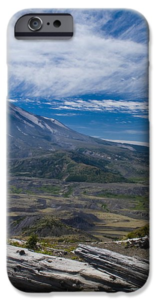 Mt St Helens iPhone Case by Brian Harig