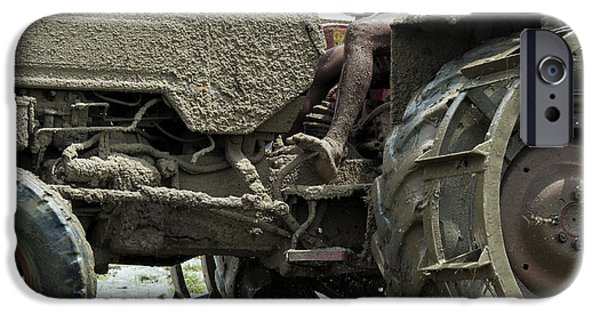 Machinery iPhone Cases - Mud iPhone Case by Tim Gainey
