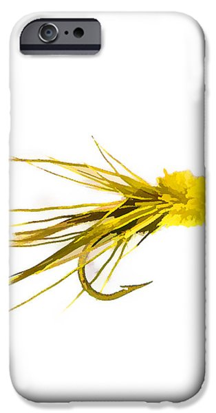 Flies Mixed Media iPhone Cases - Fly Fishing - Muddler Minnow iPhone Case by Barry Jones