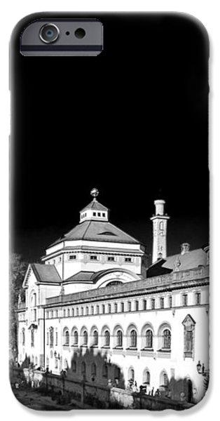 Mueller'sches Volksbad - Munich Germany iPhone Case by Christine Till